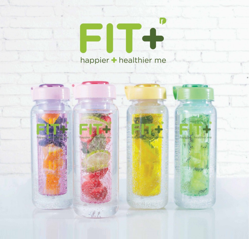 Fit+ Infused Water Bottle